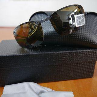 Brand New Ray Ban Tech Series Dark Carbon Polarized RB8306 082 83 Sunglasses $1400