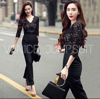 Venice jumpsuit (black) #joinjuli