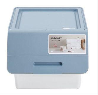 日本製Froq塑膠儲物箱(中)