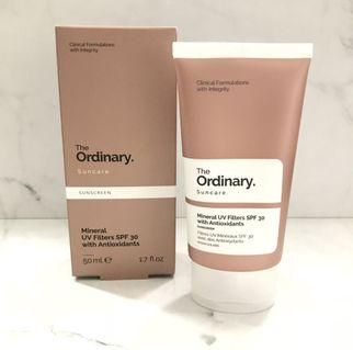 The ordinary mineral UV filters SPF 30 with antioxidants 50ml #joinjuli