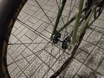 Piston wheelset