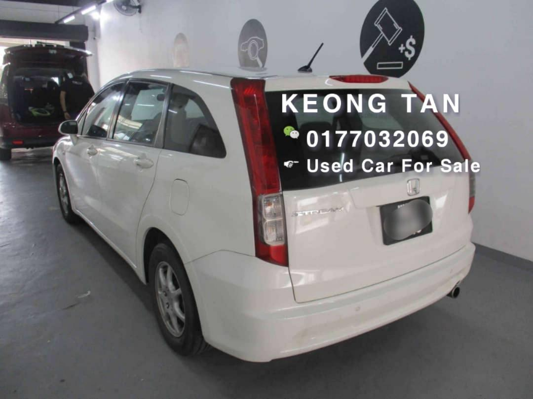 2008TH HONDA STREAM 1.8AT I-VTEC 7Seater MPV Carking LOCAL Cash💰OfferPrice💲Rm43,800 Only‼ Lowest Price InJB 🎉📲 Keong‼🤗