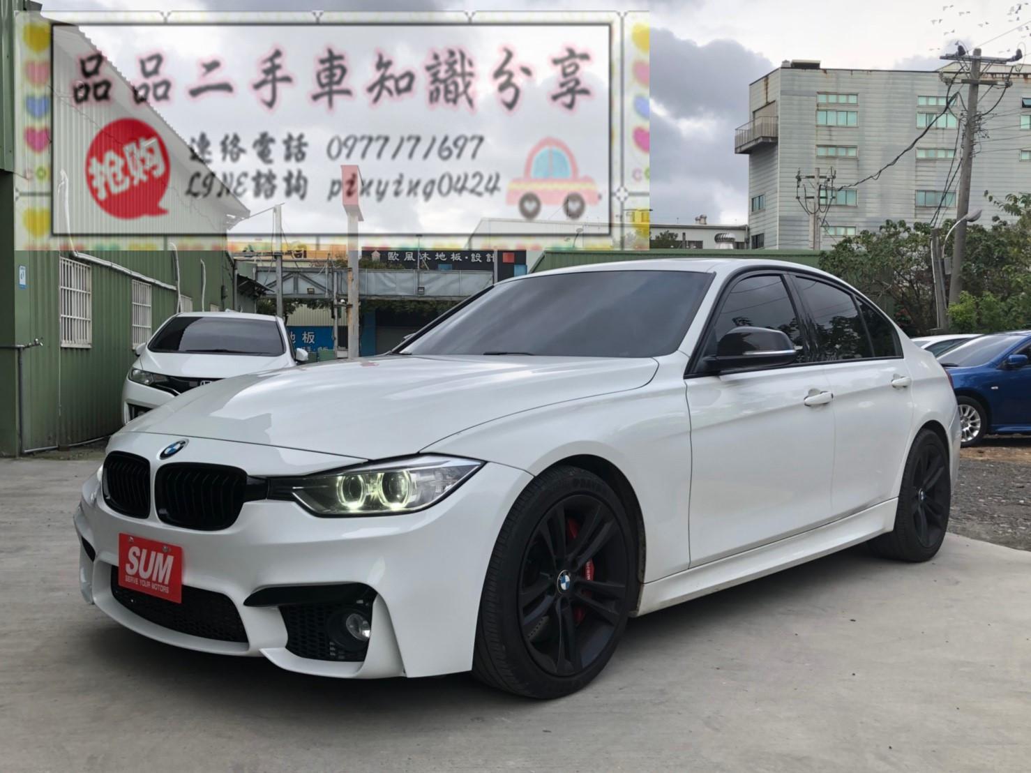 2012年 BMW 328 號稱400P 白
