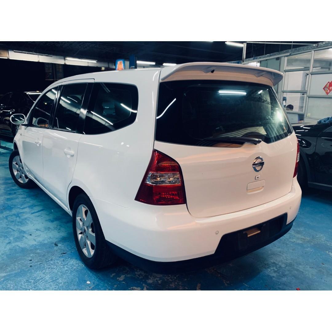 正2012年 小改豪華頂級版七人座 Nissan Livina 1.8  只賣您22.8萬