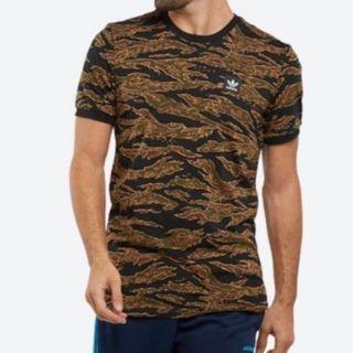 Adidas Men's Camouflage Printed Tee (Size S)