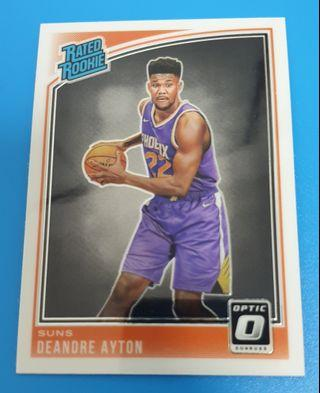 *RC* De'Andre Ayton Donruss Optic 2018-19
