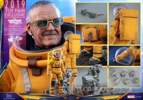 🚚 Hot Toys Stan Lee Guardians of the Galaxy 2 MMS545