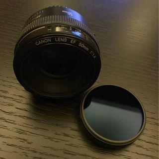 CANON Lens EF 50MM 1.4