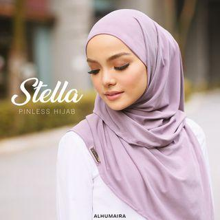 INSTOCK Stella Pinless Hijab (Inner attached)