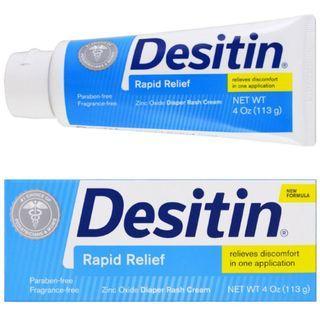 🚚 BNIB DESITIN Rapid Relief Baby Diaper Cream 4OZ 113g
