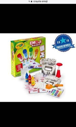 🚚 Crayola Emoji Maker