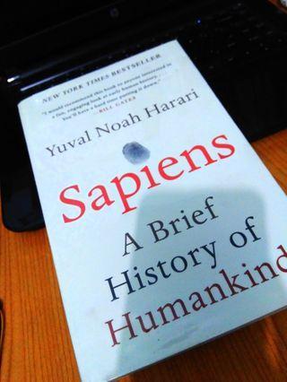 Buku Impor Yuval Noah Harari Sapiens
