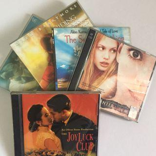 SET OF 5 Orig VCD Movies Drama Romance