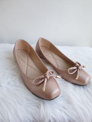 Rosegold Ballerina Flats