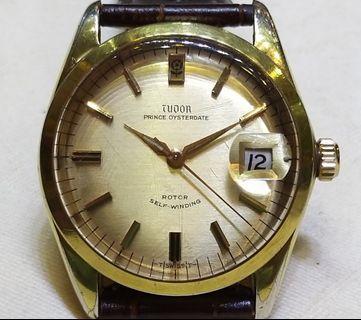 古董自動7966細花TUDOR錶