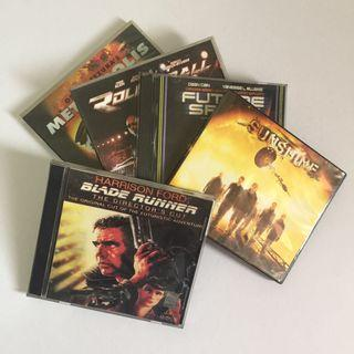 SET OF 5 Orig VCD Movies SciFi Thriller Anime