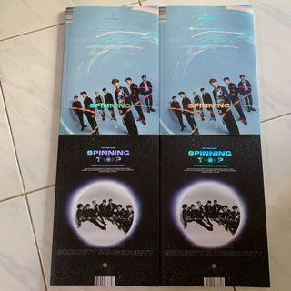 [UNSEALED/WTS] GOT7 SPINNING TOP UNSEALED ALBUMS