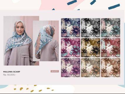 Hijab segiempat Zoya mezora voal