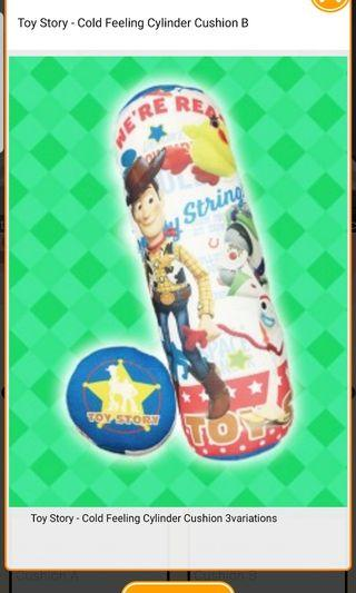 (Instock) Toy Story - Cold Feeling Cylinder Cushion B