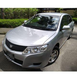 TOYOTA ALLION 1.5L - WITH GOJEK REBATES!! LUXURIOUS! ECONOMICAL. VERY RARE TO COME BY! FAMOUS FOR LOW FUEL CONSUMPTION! REAR RECLINING SEATS!
