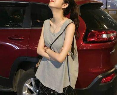 (C1008075) 新款 時尚 百搭 型格 寬鬆 女裝背心