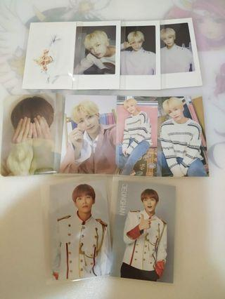 Seventeen clearance photocard and more mostly jeonghan