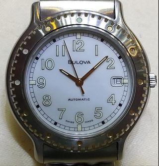 二手自動BULOVA潛水錶