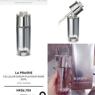 LA PRAIRIE Cellular Serum Platinum Rare活膚稀世鉑金精華素 30ml