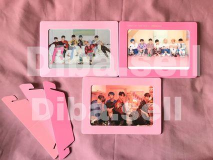 BTS OFFICIAL PHOTO FRAME | MAPS OF THE SOUL | ver 1, 2, 3 and 4