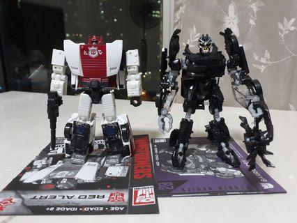 Transformers Wfc Siege Red Alert & Studio Series Barricade