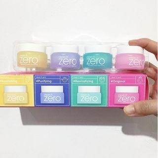 [BANILA CO.] Clean It Zero Special Kit 7ml x 4 tubs (Korea's Best Makeup Remover) - BeautyBubble