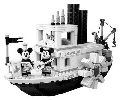 LEGO Disney Steamboat Willie (Ready Built)