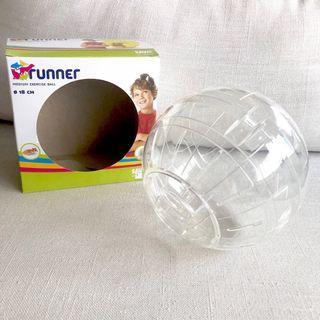 Savic 18cm Transparent Hamster Running Ball