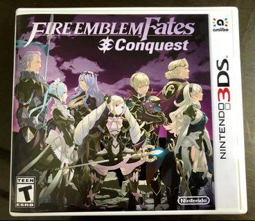 🚚 Nintendo 3DS Game: Fire Emblem Fates Conquest