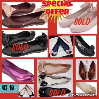 $5 off Promotion for Melissa shoes US 10 Eur 41 in stock