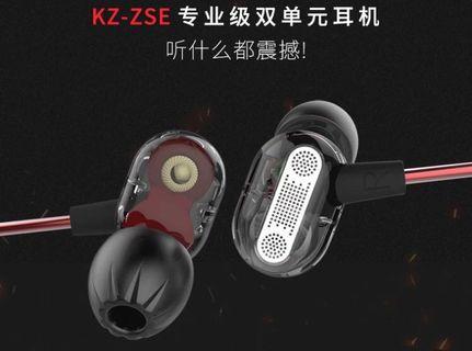 KZ ZST 雙單元入耳式耳機