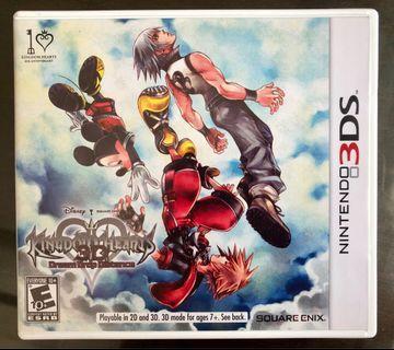 🚚 Nintendo 3DS Game: Kingdom Hearts - Dream Drop Distance