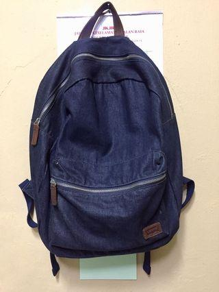Auth. Levis Denim Backpack