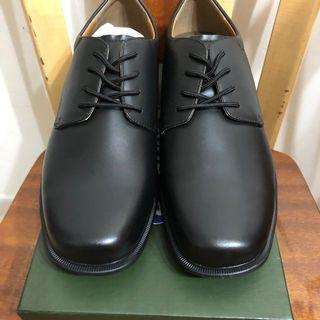 Dr. Kong 黑色皮鞋 健康鞋 返學鞋 返工鞋 43號