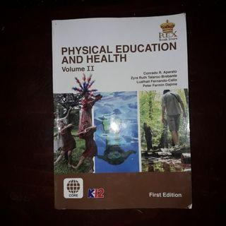 Rex Publisher: Physical Education and Health (Vol. II)