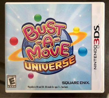 🚚 Nintendo 3DS Game: Bust-A-Move Universe