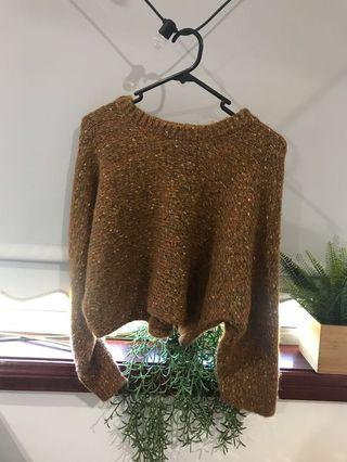 Cotton on brown jumper RRP $50