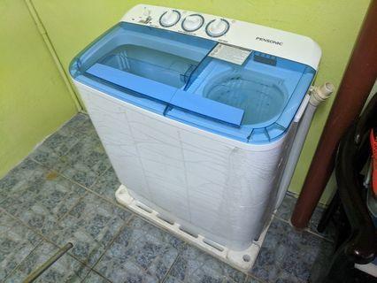 Mesin Basuh Pensonic 2in1 Washing Machine 6kg semi auto