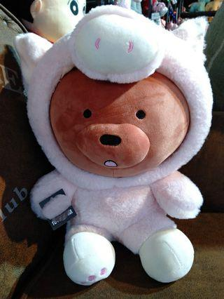 #Lne Friend #Browns, #Plush/#Stuff Toy/#Soft Toy with #Blanket inside for #Gift/#Present. #MRTSENGKANG #MRTSERANGOON #MRTPUNGGOL #MRTMOUNTBATTEN