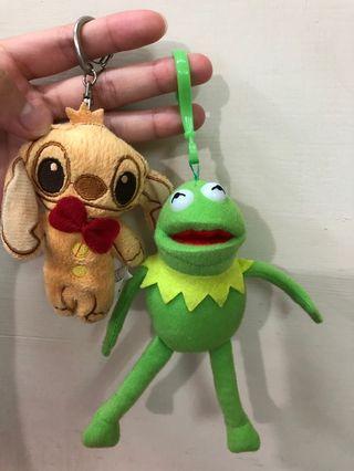 史迪奇 Kermit 青蛙🐸鑰匙圈