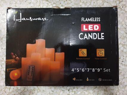 Free Delivery(JG36) Hausware Flameless LED Candles #AmplifyJuly35