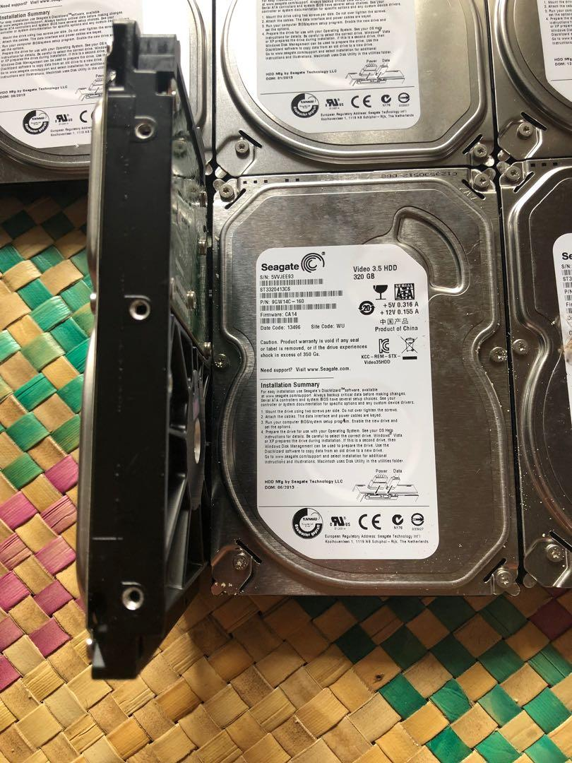 320GB Seagate Pipeline Hard Disk on Carousell