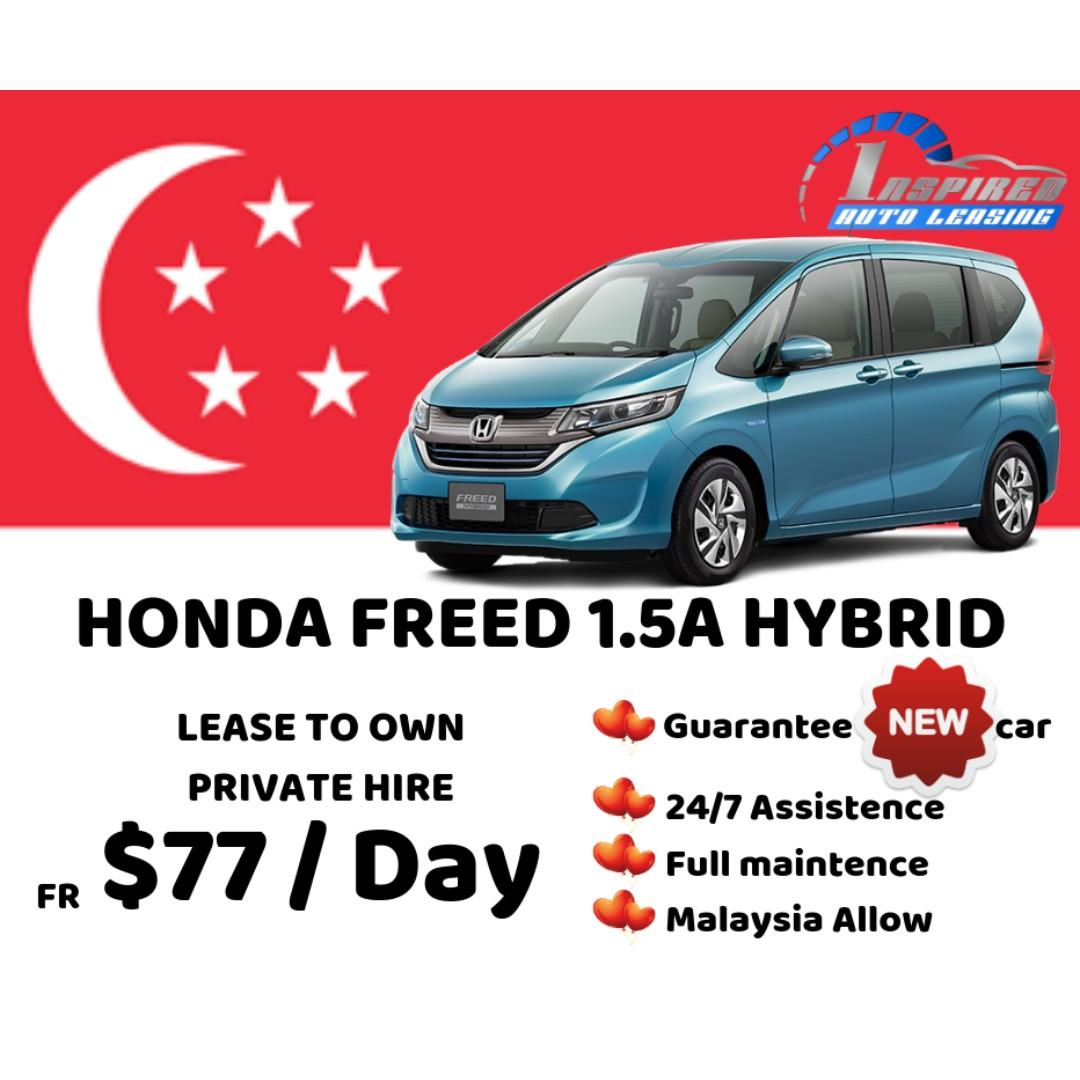 [ Brand New ] HONDA FREED 1.5A HYBRID * Lease To Own *