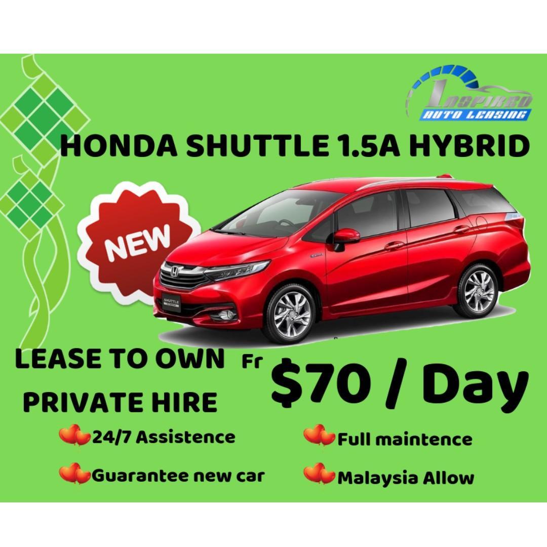 [ Brand New ] HONDA SHUTTLE 1.5A HYBRID * Lease To Own *