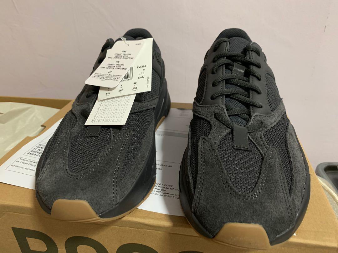 Adidas YEEZY 700 V1 Utility black, Men
